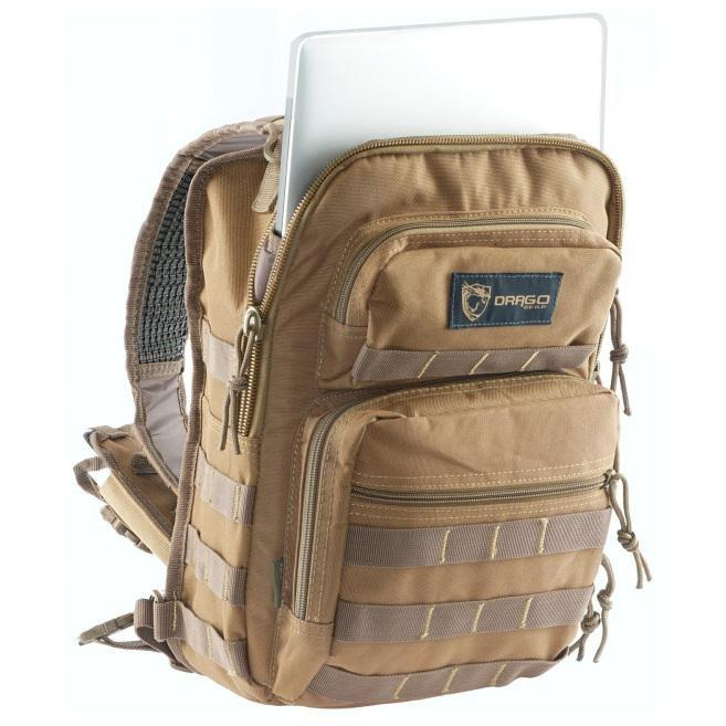 Tan; Drago Gear Sentry Pack for Tablet - HCC Tactical