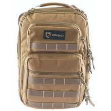 Drago Gear Sentry Pack for Tablet Tan Front - HCC Tactical