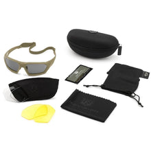 Revision ShadowStrike Ballistic Sunglasses Deluxe Kit Tan - HCC Tactical