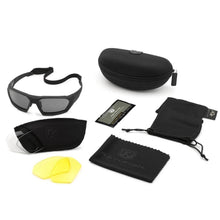Revision ShadowStrike Ballistic Sunglasses Deluxe Kit Black - HCC Tactical