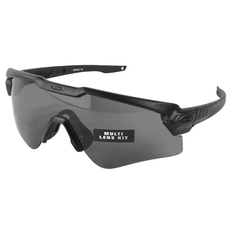 Black / Gray; SI Ballistic M-Frame Alpha (Two Lens Kit) - HCC Tactical