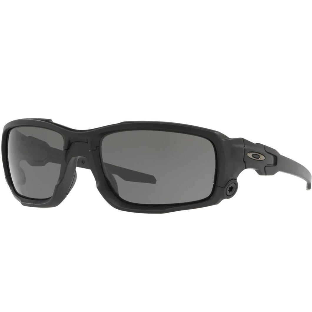 Matte Black Frame / Gray Lens; Oakley Standard Issue Ballistic Shocktube - HCC Tactical