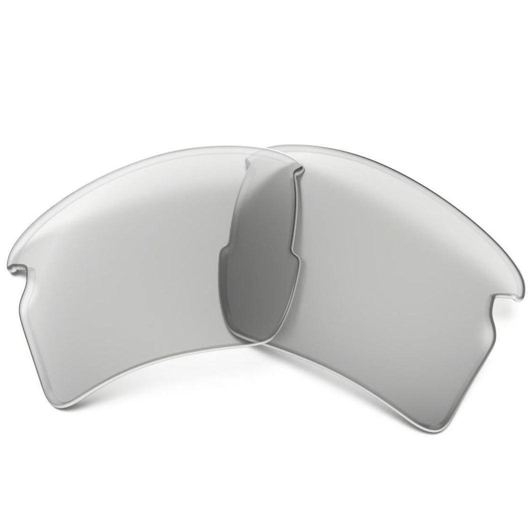 Clear; Oakley Flak 2.0 Replacement Lenses - HCC Tactical