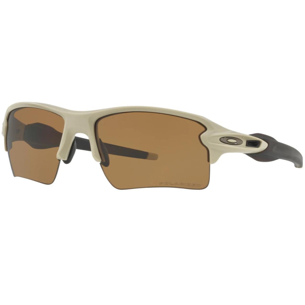Desert Tan Frame / Bronze Polarized Lens; Oakley Standard Issue Flak™ 2.0 XL Desert Collection - HCC Tactical