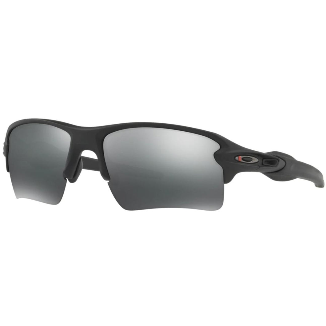 Matt Black Frame / Black Iridium Lens; Oakley SI Flak 2.0 XL Thin Red Line Collection - HCC Tactical