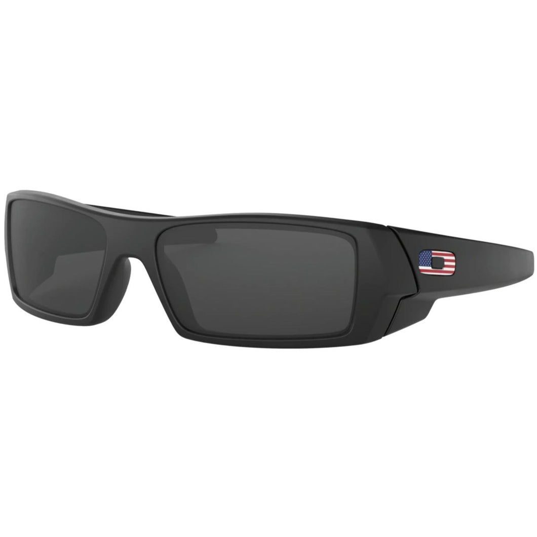 Matte Black Frame/ Grey Lens; SI Gascan Flag Collection - HCC Tactical