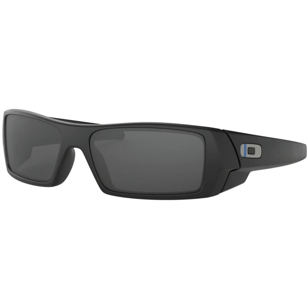 Matte Black Frame / Grey Lens / Thin Blue Line; Oakley Thin Line Collection - HCC Tactical