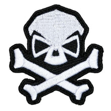 White; Pipe Hitters Union Skull and Bones - HCC Tactical