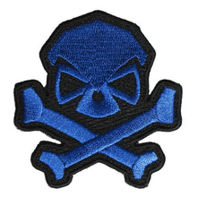 Blue; Pipe Hitters Union Skull and Bones - HCC Tactical