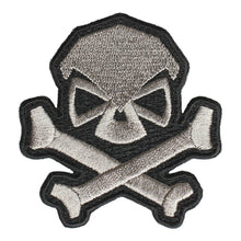 Gray; Pipe Hitters Union Skull and Bones - HCC Tactical