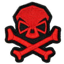 Red; Pipe Hitters Union Skull and Bones - HCC Tactical