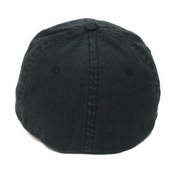 alt - Black / Pewter; Pipe Hitters Union Skull & Bones Flexfit Hat - HCC Tactical