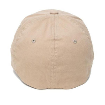 alt - Khaki; Pipe Hitters Union Skull & Bones Flexfit Hat - HCC Tactical