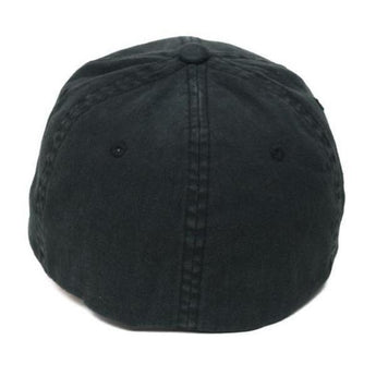 alt - Black; Pipe Hitters Union Skull & Bones Flexfit Hat - HCC Tactical