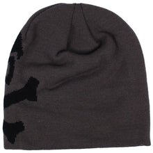 alt - Grey / Black; Pipe Hitters Union Skull & Bones Woven Beanie - HCC Tactical