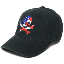 Black; Pipe Hitters Union Skull Flag Flexfit Hat - HCC Tactical