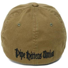 alt - Olive; Pipe Hitters Union Skull Flag (Subdued) Flexfit Hat - HCC Tactical