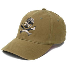 Olive; Pipe Hitters Union Skull Flag (Subdued) Flexfit Hat - HCC Tactical
