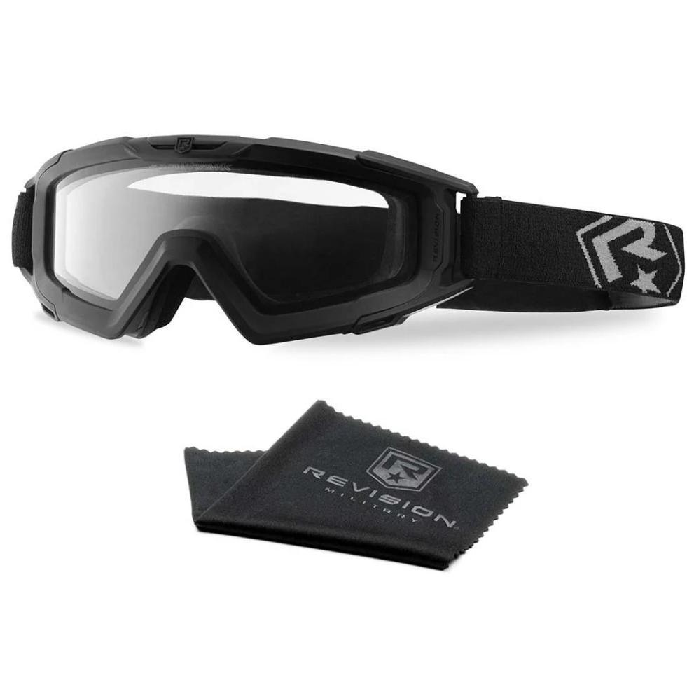 Black; Revision Snowhawk Goggle System Basic Kit - HCC Tactical