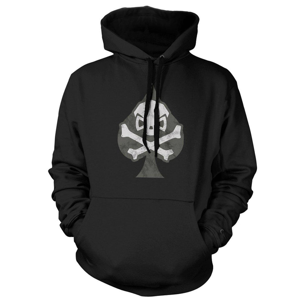 Black; Pipe Hitters Union Spade Hoodie - HCC Tactical