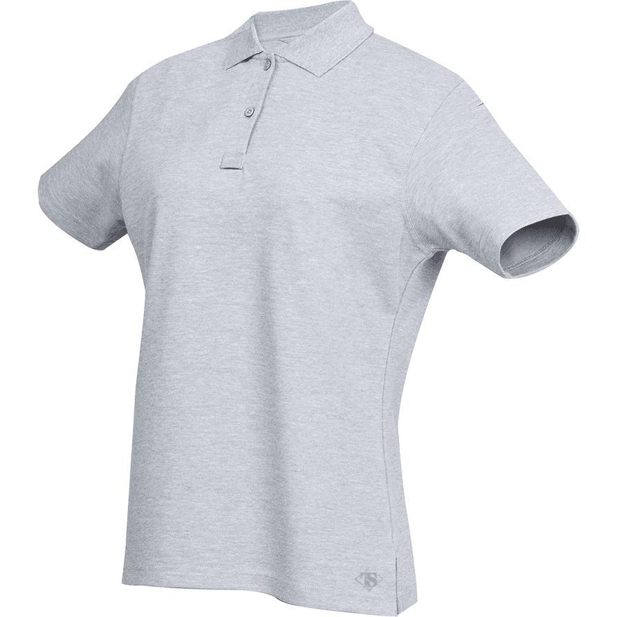 Heather Gray; Tru-Spec SS Original Polo for Women - HCC Tactical