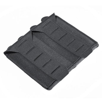 Black; Blue Force Gear - Stackable Ten-Speed M4 Mag Pouch - 2 Mags