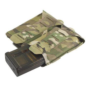 MultiCam; Blue Force Gear - Stackable Ten-Speed M4 Mag Pouch - 2 Mags