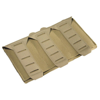 Coyote; Blue Force Gear Stackable Ten-Speed M4 Mag Pouch - 3 Mags - HCC Tactical