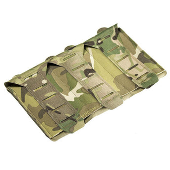 alt - MultiCam; Blue Force Gear Stackable Ten-Speed M4 Mag Pouch - 3 Mags - HCC Tactical