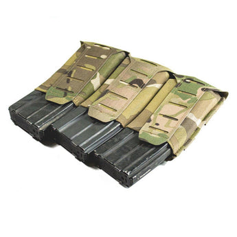 MultiCam; Blue Force Gear Stackable Ten-Speed M4 Mag Pouch - 3 Mags - HCC Tactical
