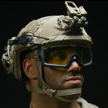 HC Yellow; Ops-Core Step-in Visor Replacement Lens - HCC Tactical