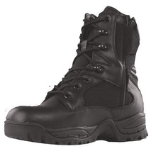 "Black; Tru-Spec Tac Assault 9"" Side Zip Boots - HCC Tactical"