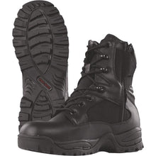 "alt - Black; Tru-Spec Tac Assault 9"" Side Zip Boots - HCC Tactical"