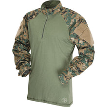 Woodland Digital; Tru-Spec Tactical Response 1/4 Zip Combat Shirt - HCC Tactical