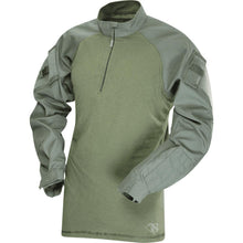 OD Green; Tru-Spec Tactical Response 1/4 Zip Combat Shirt - HCC Tactical