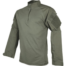 Ranger Green; Tru-Spec Tactical Response 1/4 Zip Combat Shirt - HCC Tactical