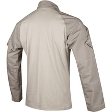 alt - Khaki; Tru-Spec Tactical Response 1/4 Zip Combat Shirt - HCC Tactical