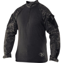 MultiCam Black; Tru-Spec Tactical Response 1/4 Zip Combat Shirt - HCC Tactical