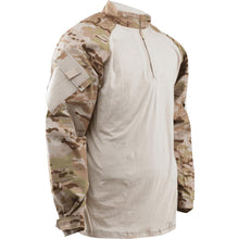 MultiCam Arid; Tru-Spec Tactical Response 1/4 Zip Combat Shirt - HCC Tactical