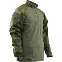 MultiCam Tropic; Tru-Spec Tactical Response 1/4 Zip Combat Shirt - HCC Tactical