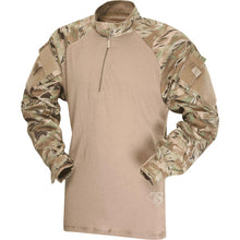 All Terrain Tiger Stripe; Tru-Spec Tactical Response 1/4 Zip Combat Shirt - HCC Tactical