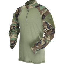 Woodland; Tru-Spec Tactical Response 1/4 Zip Combat Shirt - HCC Tactical