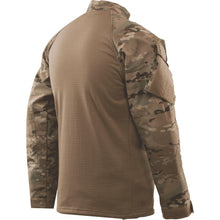 alt - MultiCam; Tru-Spec Tactical Response 1/4 Zip Winter Combat Shirt - HCC Tactical