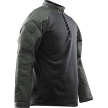 OD Green; Tru-Spec Tactical Response 1/4 Zip Winter Combat Shirt - HCC Tactical