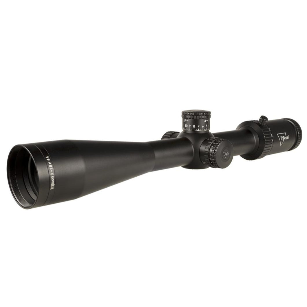 Black; Trijicon Tenmile™ HX 3-18x44 Long-Range Riflescope - HCC Tactical