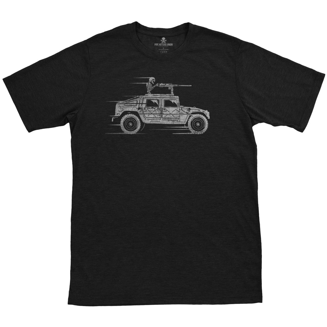 Black; Pipe Hitters Union The Reaper Tee - HCC Tactical