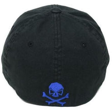 alt - Black / Blue; Pipe Hitters Union Thin Line Flexfit Hat - HCC Tactical