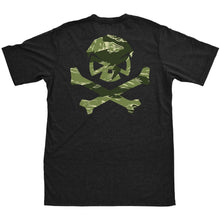 Black; Pipe Hitters Union Tigerstripe Camo Logo Tee - HCC Tactical