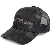 MultiCam Black; Pipe Hitters Union Trucker Hat - HCC Tactical