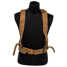 Coyote; Grey Ghost Gear UGF 3-Point Suspenders - HCC Tactical